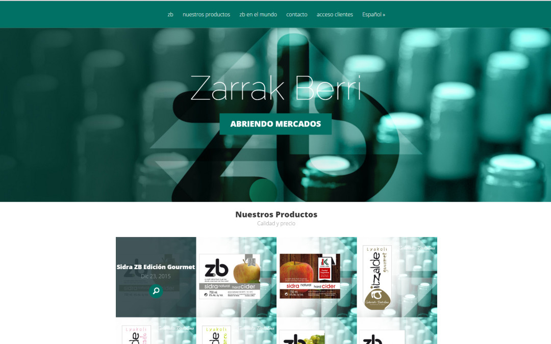 Zarrak Berri estrena página web