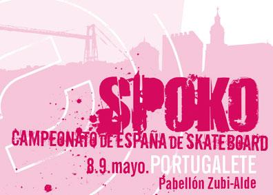 Spoko|Campeonato nacional skateboard