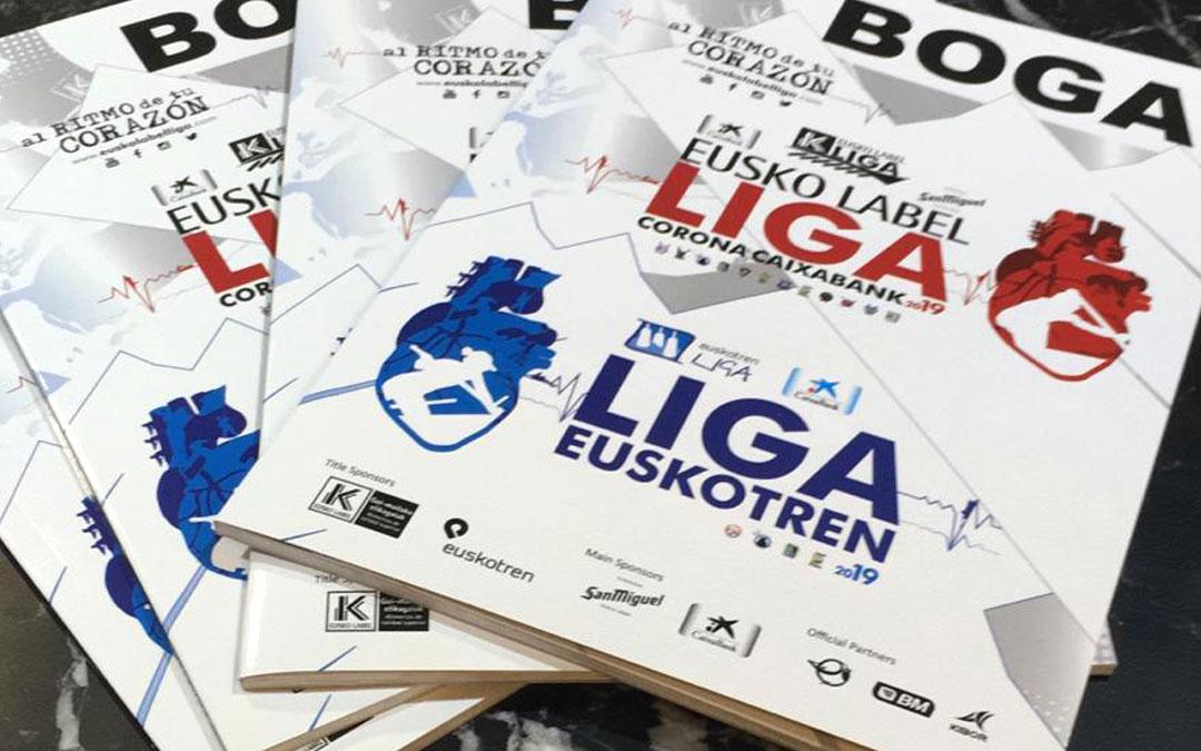 Un año más diseñamos la imagen de la Eusko Label Liga y Liga Euskotren 2019