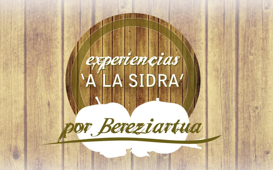 """Creamos las """"Experiencias 'a la sidra' …por Bereziartua"""""""