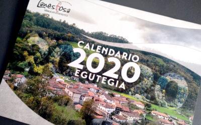 Diseño del calendario oficial del Ayuntamiento de Lanestosa