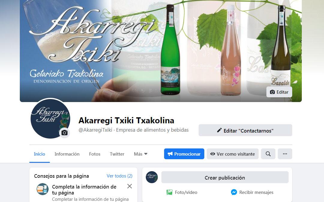 Facebook Akarregi Txiki